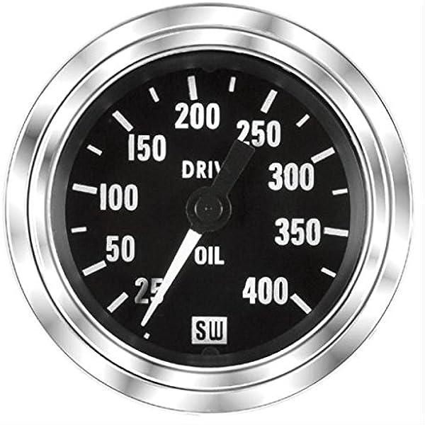 MAXIMA TECHNOLOGIES Stewart Warner Oil Pressure Gauge 0-80 PSI