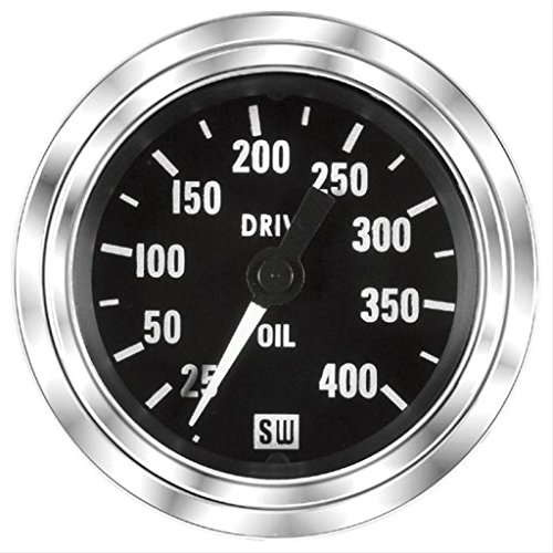 MAXIMA TECHNOLOGIES Stewart Warner Oil Pressure Gauge 25-400 PSI