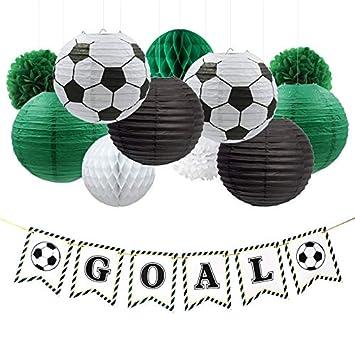 Decoración de Fiesta 17 pcs/Set fútbol GOL Fiesta decoración ...