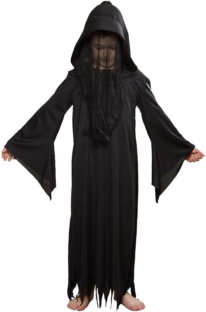 Scythe Grim Reaper Ladies Fancy Dress Horror Phantom Adults Halloween Costume