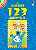 Sesame Street 123 Activity Book, Sesame Street Staff, 0486330117