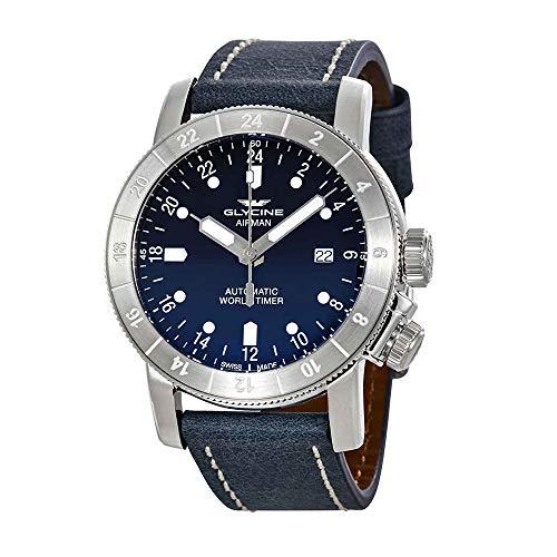 Glycine Purist Automatic Blue Dial Men's Watch GL0057