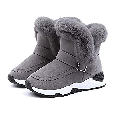 Tronet Winter Baby Shoes, Kids Baby Boys Girls Child Fur Flock Winter Bootie Warm Snow Shoes Boots