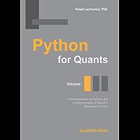 Python for Quants. Volume I.