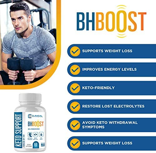 Clinical Effects: Keto Support BHBoost - Dietary Supplement for Keto Weight Loss - 60 Capsules per Bottle - 3 Bottles - Fat Burner Support - Exogenous Ketones - Restore Electrolytes and Boost Energy 6