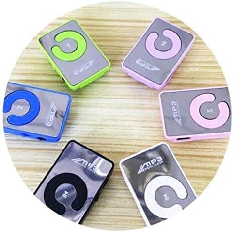 Mini Mirror Clip MP3 Player Portable Sport USB Digital Music Player SD TF Card Rodalind