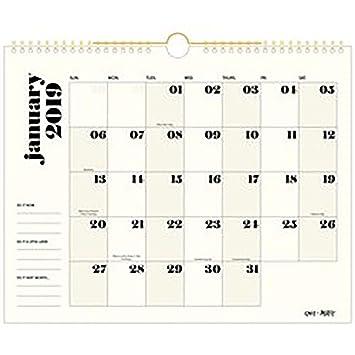 Emily + Meritt 2019 Monthly Wall Calendar, 15