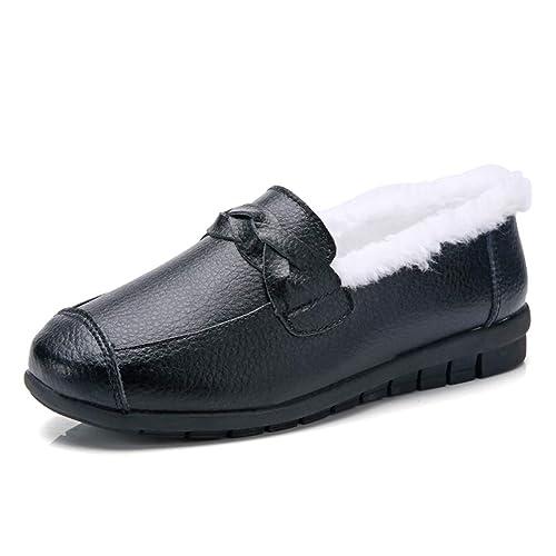Zapatos De Mujer Zapatillas De Deporte Mocasines Planos Mocasines Oxfords Barco Vaca Gamuza Piel De Felpa Primavera OtoñO Damas Mujer Calzado: Amazon.es: ...