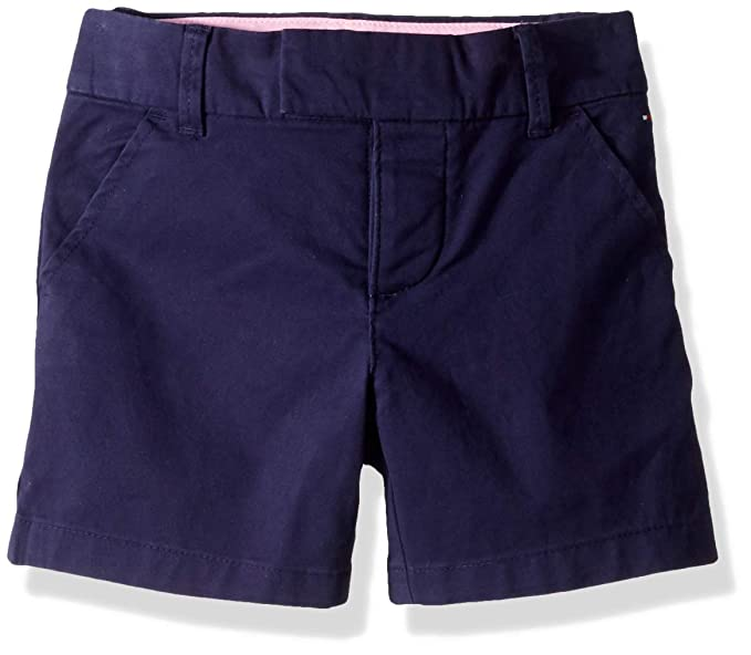 9a286aa600 Image Unavailable. Image not available for. Colour: Tommy Hilfiger Adaptive  Girls' Big Shorts wiith Velcro Brand Closure and Magnetic Fly ...
