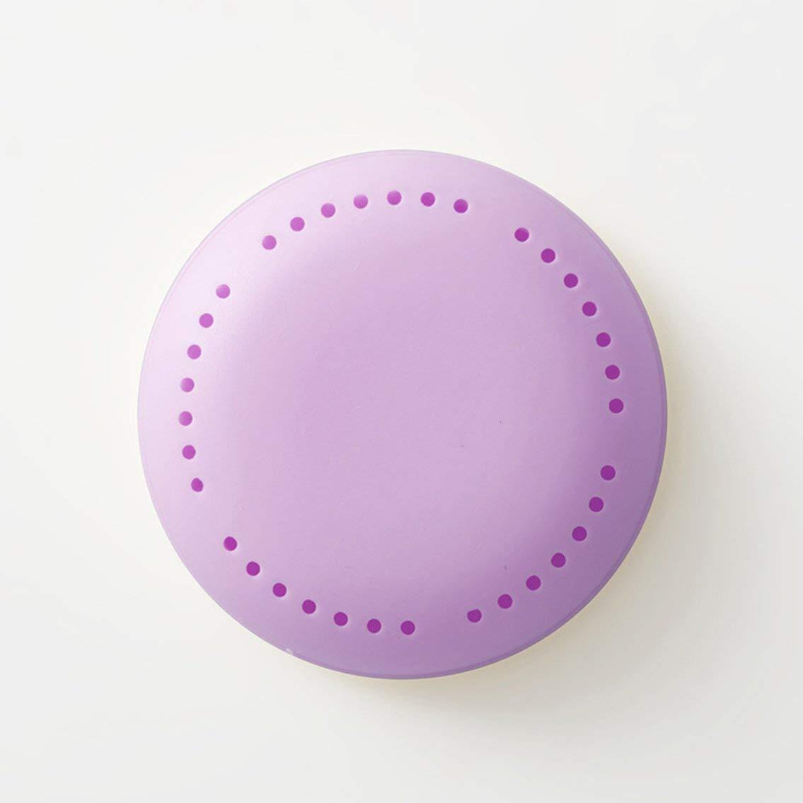 Mazur Natural Adhesive Candy Color Wardrobe Aromatherapy Box Anti-Molding Deworming Shoe Wardrobe Deodorant Deodorization Box(Lavender purple)