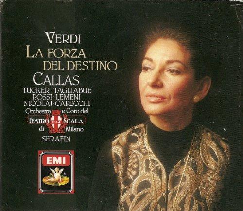 VERDI LA FORZA DEL DESTINO Callas EMI LA SCALA / SERAFIN UPC 077774758185 3 CDs