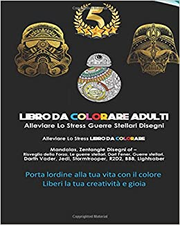Amazon.com: Guerre Stellari Mandalas ZenTangle Libro Da ...