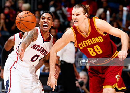 Wall Cavaliers Framed (Photos by Getty Images Cleveland Cavaliers v Atlanta Hawks - Aluminum, Mounted, 40x30)