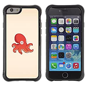 BullDog Case@ Octopus Squid Toy Rugged Hybrid Armor Slim Protection Case Cover Shell For iPhone 6 Plus CASE Cover ,iphone 6 5.5 case,iPhone 6 Plus cover ,Cases for iPhone 6 Plus 5.5