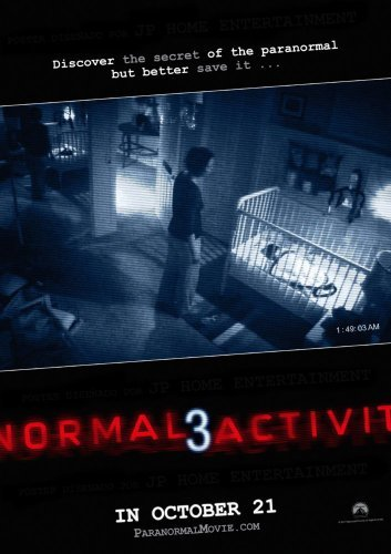 Paranormal Activity 3 Movie Mini Poster 11x17 #01 by Unknown