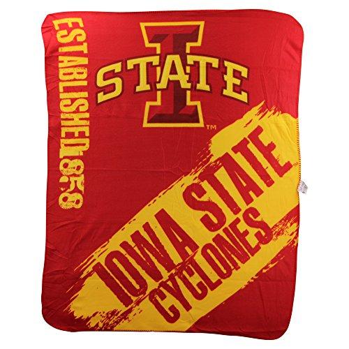 Fleece Iowa Blanket (The Northwest Company NCAA Collegiate School Logo Fleece Blanket (Iowa State Cyclones))