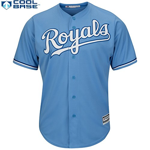 Kansas City Royals MLB Youth Cool Base Alternate Jersey (Youth Large (Kansas Jersey)
