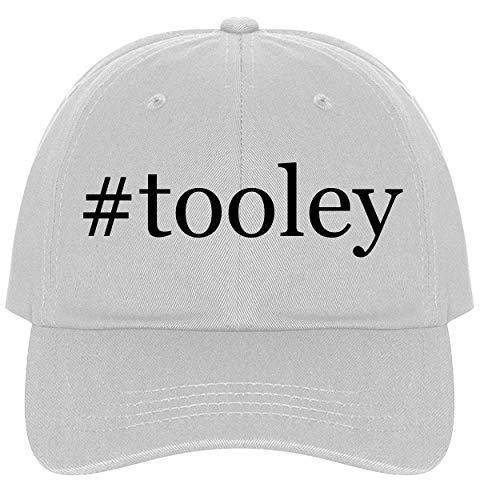 (The Town Butler #Tooley - A Nice Comfortable Adjustable Hashtag Dad Hat Cap, White)