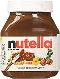 NUTELLA FERRERO, 2 JARS- 26.5 OUNCE , HAZELNUT SPREAD by Nutella