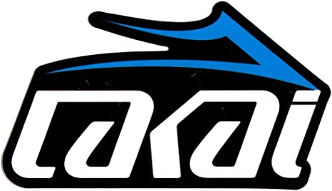 Lakai Skate Shoes Skateboard Sticker White/Blue 10cm wide approx. skate  snow surf board bmx: Amazon.ca: Sports & Outdoors