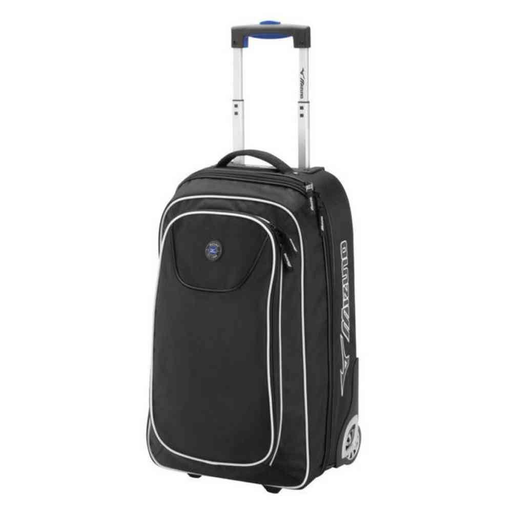Mizuno OnBoarder Volleyball Travel Bag Mizuno On-Boarder Travel Bag Black 14 x 22 x 11.5-Inch 470128.9090.01.0000