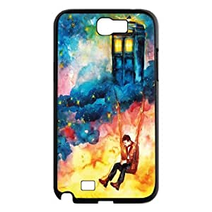 FOR Samsung Galaxy Note 2 Case -(DXJ PHONE CASE)-TV Show Doctor Who Series-PATTERN 19