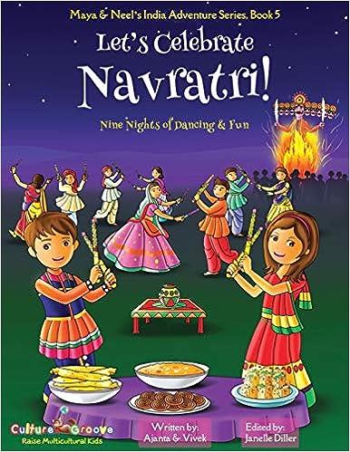 Let's Celebrate Navaratri book from Amazon