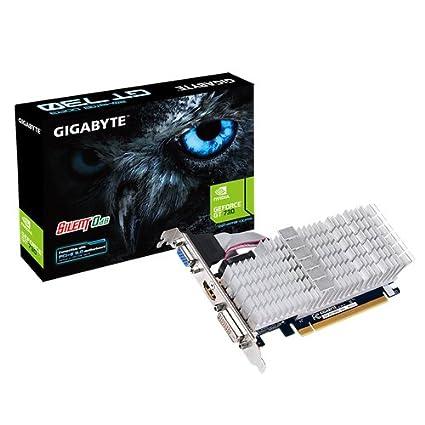 Gigabyte GV-N730SL-2GL - Tarjeta gráfica (4096 x 2160 píxeles, NVIDIA, 2 GB, DDR3-SDRAM, 64 Bit) plata