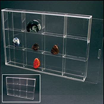 Amazon Com Acrylic Glass Display Case For Rocks Minerals