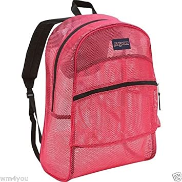 Amazon.com: JanSport Mesh Backpack (Majestic Pink): Sports & Outdoors