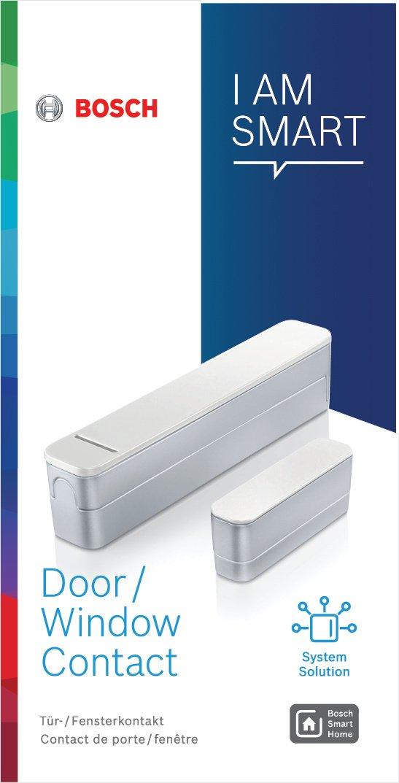 Bosch - Sensor de Puerta y Ventana, Inalámbrico, Versión para Alemania, Austria, Francia y Reino Unido: Amazon.es: Bricolaje y herramientas