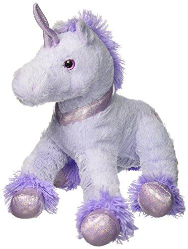 "Dan Dee Plush Purple Floppy Unicorn Stuffed Animal 22"""