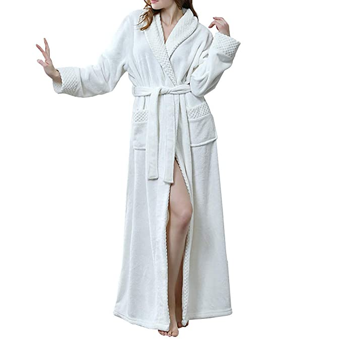 GODGETS Kimono Mujer Batas Hombre Albornoz de Forro Polar baño Toallas Ducha Invierno, Mas Suave Comodo y Agradable: Amazon.es: Ropa y accesorios