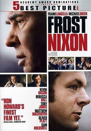 Frost/Nixon [Reino Unido] [DVD]: Amazon.es: Cine y Series TV