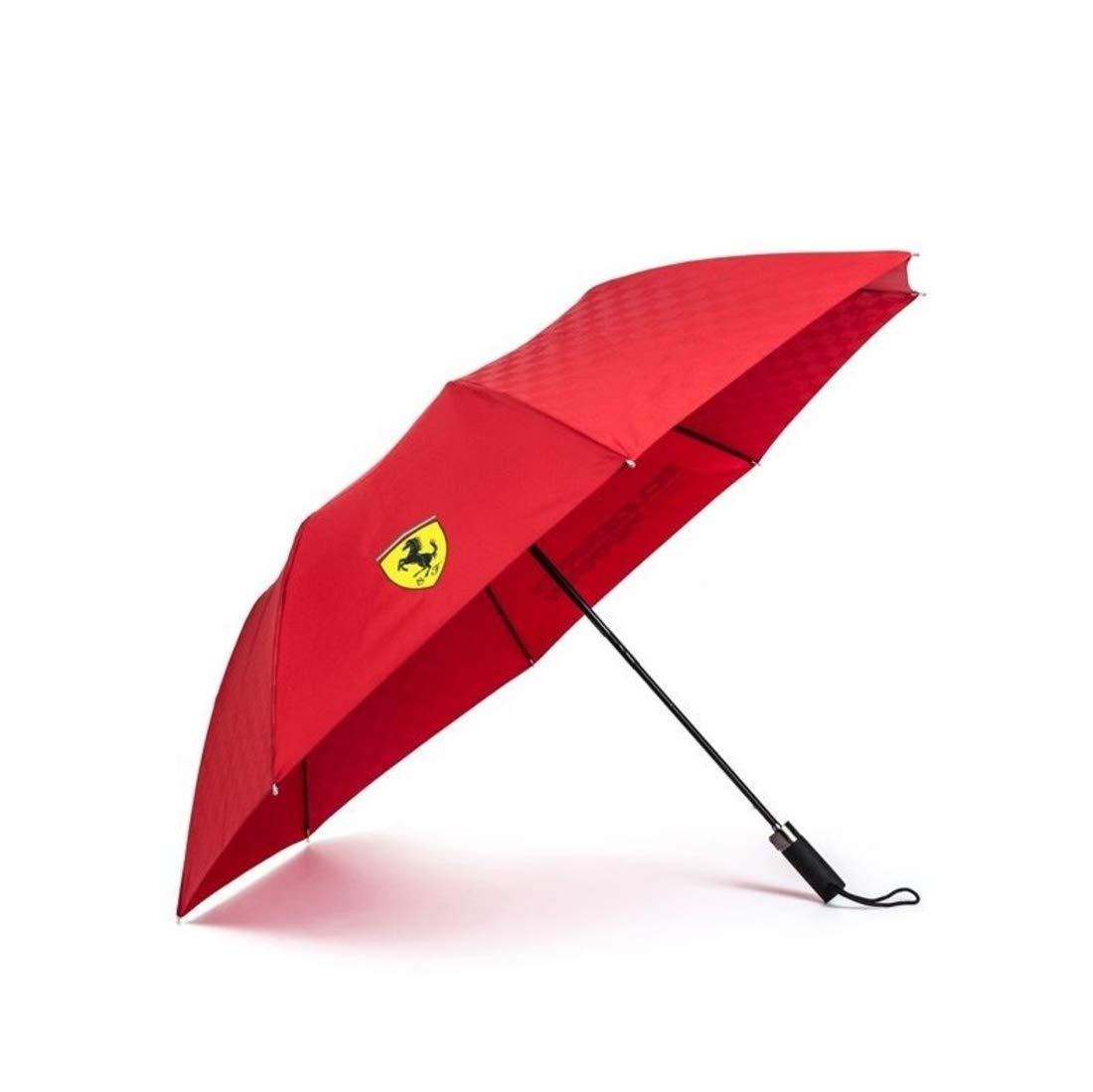 Scuderia Ferrari コンパクト傘 レッド   B07Q63V1TS