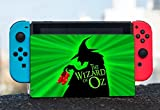 Wicked Witch with Red Shoes Quote Design Print Image Nintendo Switch Dock Vinyl Decal Sticker Skin by Trendy Accessories
