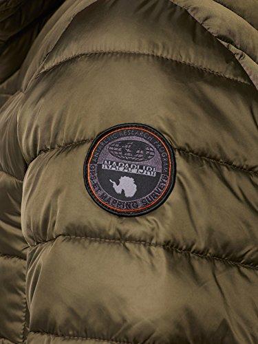 Cappuccio da Napapijri Aerons uomo Militare Giacca Verde r0arxzqt