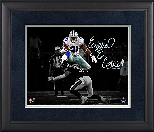 Ezekiel Elliott Dallas Cowboys Framed 11