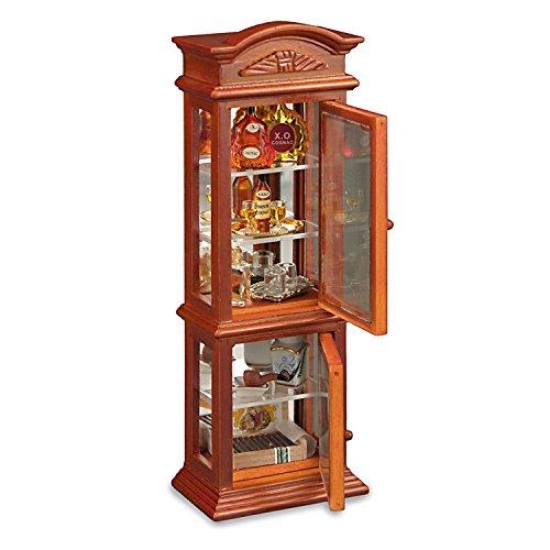 Dollhouse Minaiture Gentleman's Cabinet by Reutter Porcelain