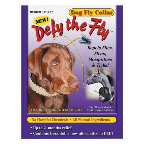 "Defy the Fly Dog Fly Collar - 17"" to 20"""