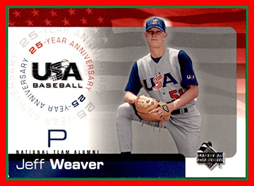 Baseball Weaver Jeff - 2004 Upper Deck Team USA Baseball 25th Anniversary #20 Jeff Weaver