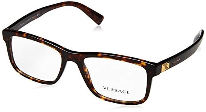 d548683736e8 Amazon.com  Versace Men s VE3253 Eyeglasses 53mm  Clothing