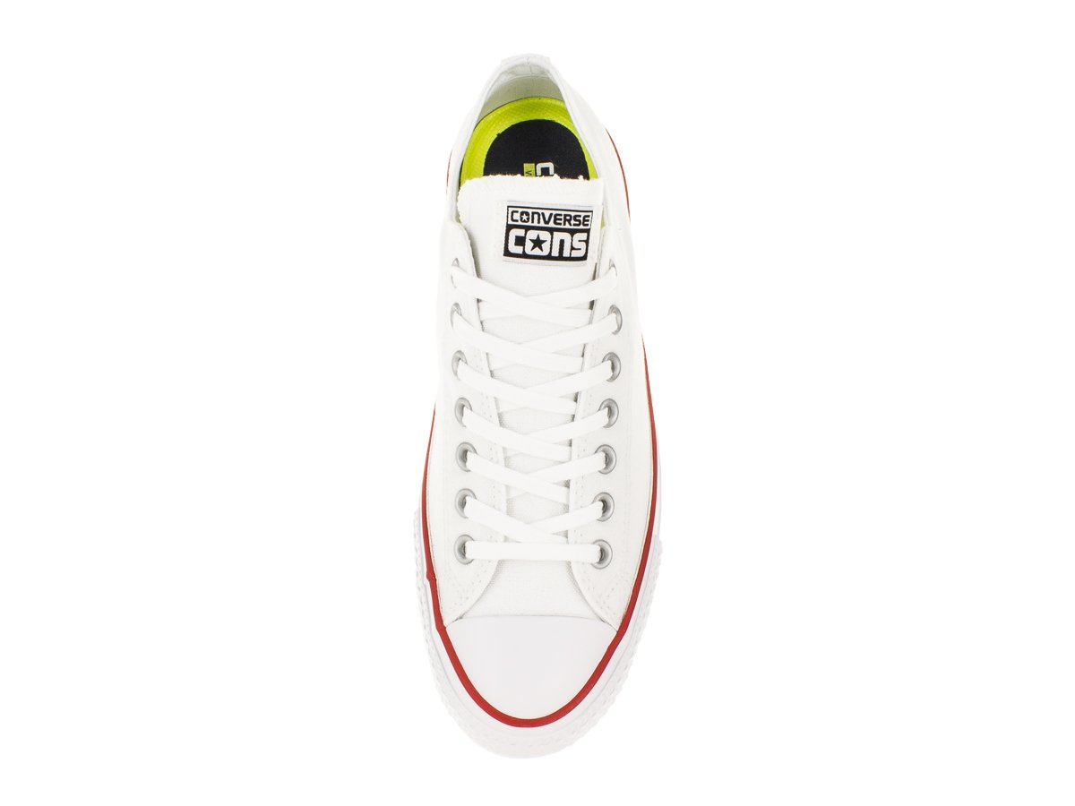 Converse Unisex Jack Purcell Pro Ox US Skate Shoe B00M8GXGJG 6.5 US Ox Men / 8.5 US Women|White/Red/Na f93807