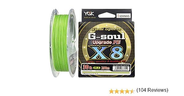 YGK G-Soul X8 Upgrade PE 30lb (#1.5) 200m by YGK: Amazon.es: Deportes y aire libre