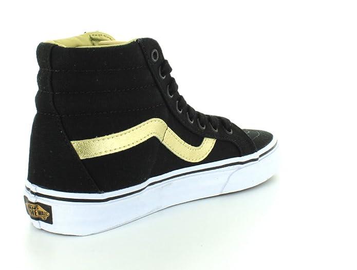 Vans U SK8 HI Reissue Black Gold V4OKJ9A, Basket 47 EU