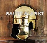 Medieval Gladiator helmet Samnite helmet Brass