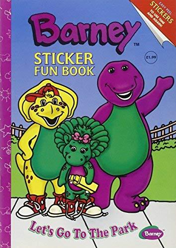 Barney Sticker Fun Book: Let's Go to the Park (1999-09-04)