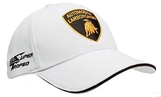 fd446488989 Lamborghini Automobili Super Trofeo Sportscar Blancpain Racing JB 1735 Cap   Amazon.co.uk  Clothing