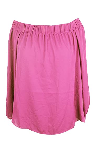 a79861668baaec Amazon.com  Inc International Concepts Intense Pink Off-The-Shoulder ...