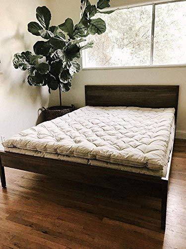 Wool 2' Top Mattress/Custom Sizes & Fabrics Available